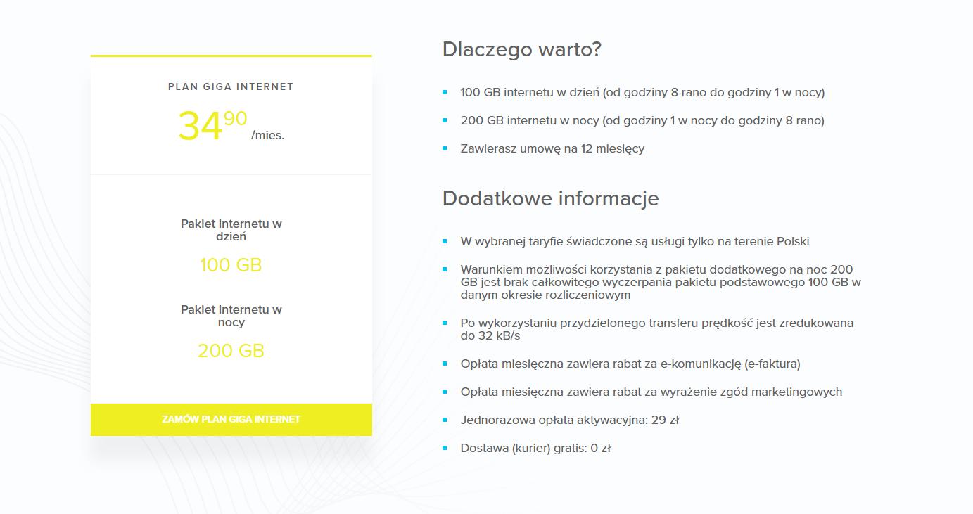 NAU Mobile - internet