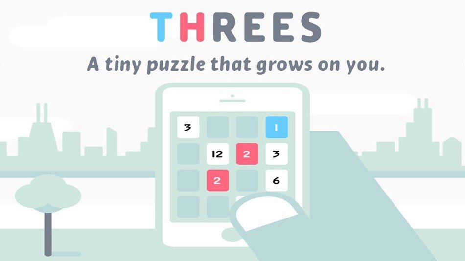 threes gra na iphone