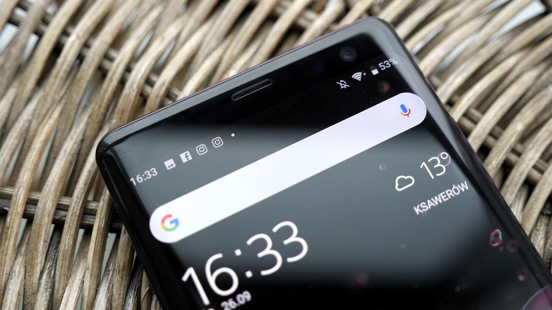 Sony Xperia XZ3 ekran oled
