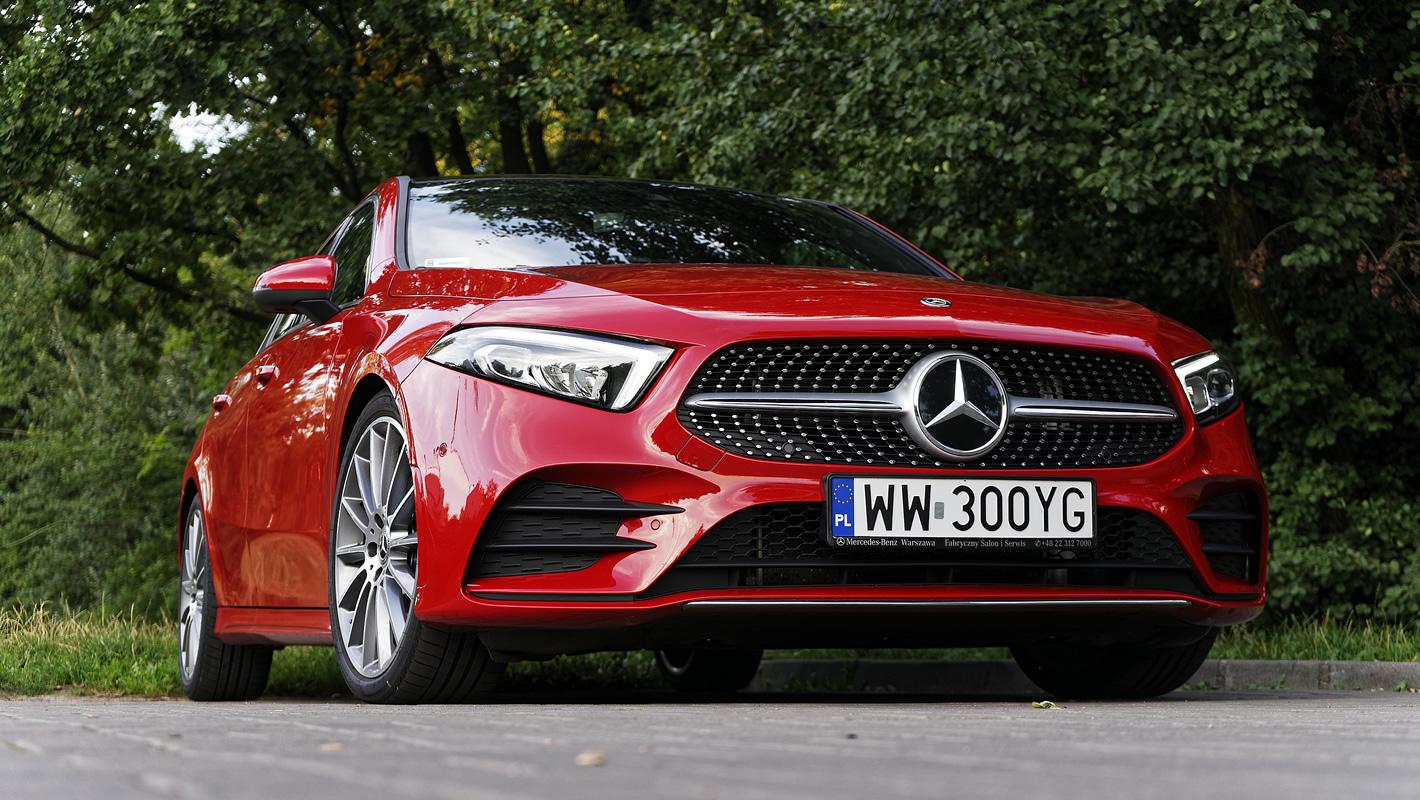 Mercedes-Benz Klasy A 200 ze skutecznym i dynamicznym napędem