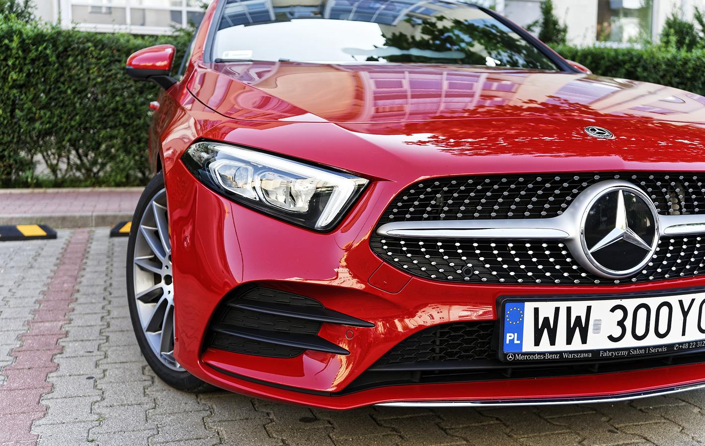 Mercedes-Benz Klasy A 200 - reflektory przednie
