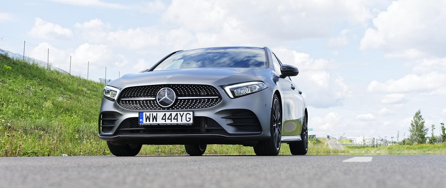 Mercedes-Benz Klasy A 200 - stosunkowo sztywne i dynamicznie zestrojone zawieszenie