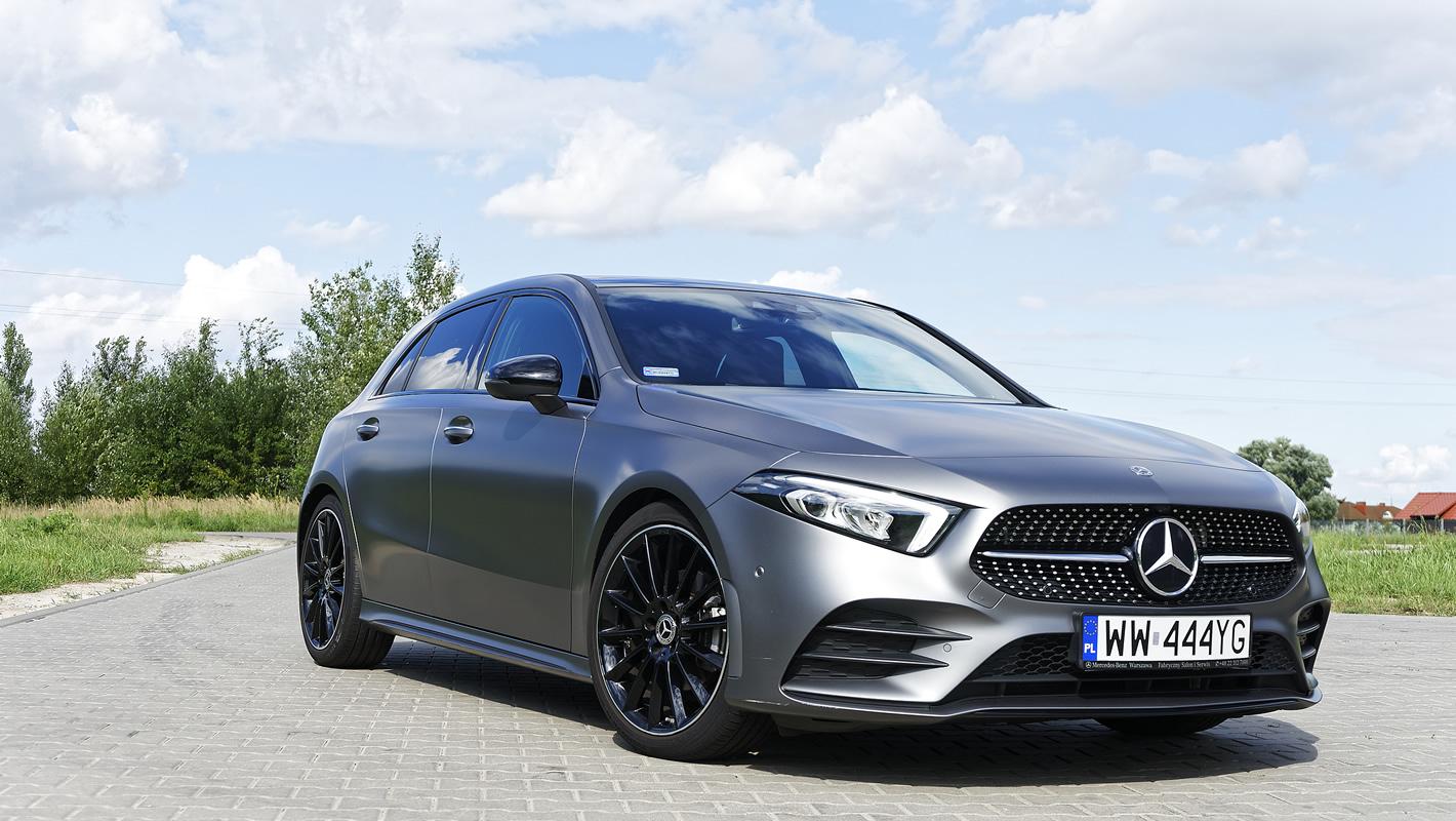 Mercedes-Benz Klasy A 200 - skuteczne hamulce