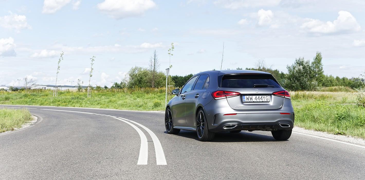 Mercedes-Benz Klasy A 200 - dynamiczna jazda