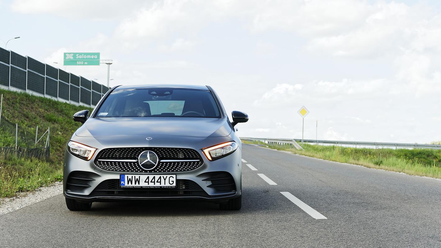 Mercedes-Benz Klasy A 200 - zawieszenie i układ kierowniczy