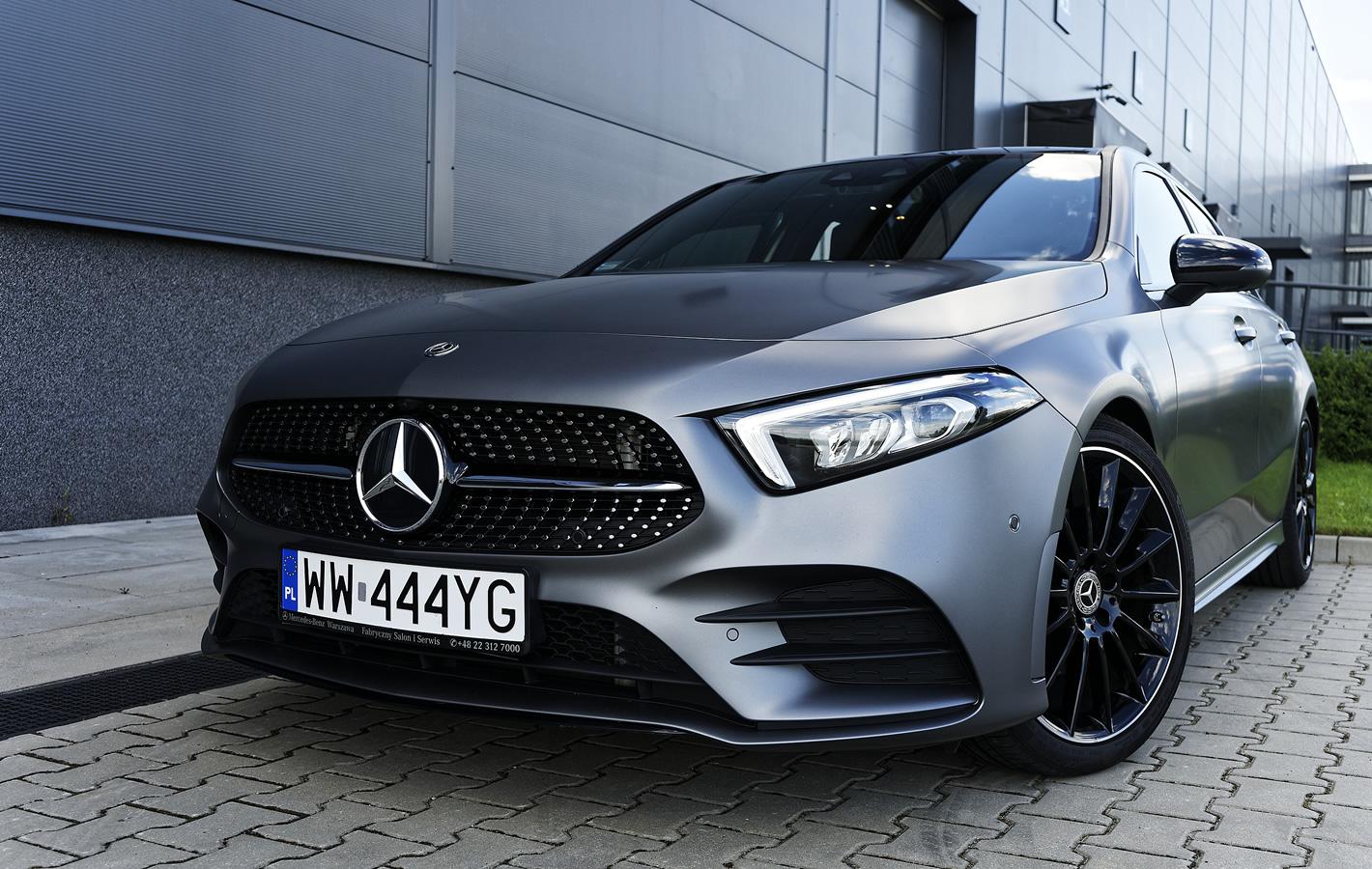 Mercedes-Benz Klasy A 200 - bardzo zaawansowany technicznie hatchback