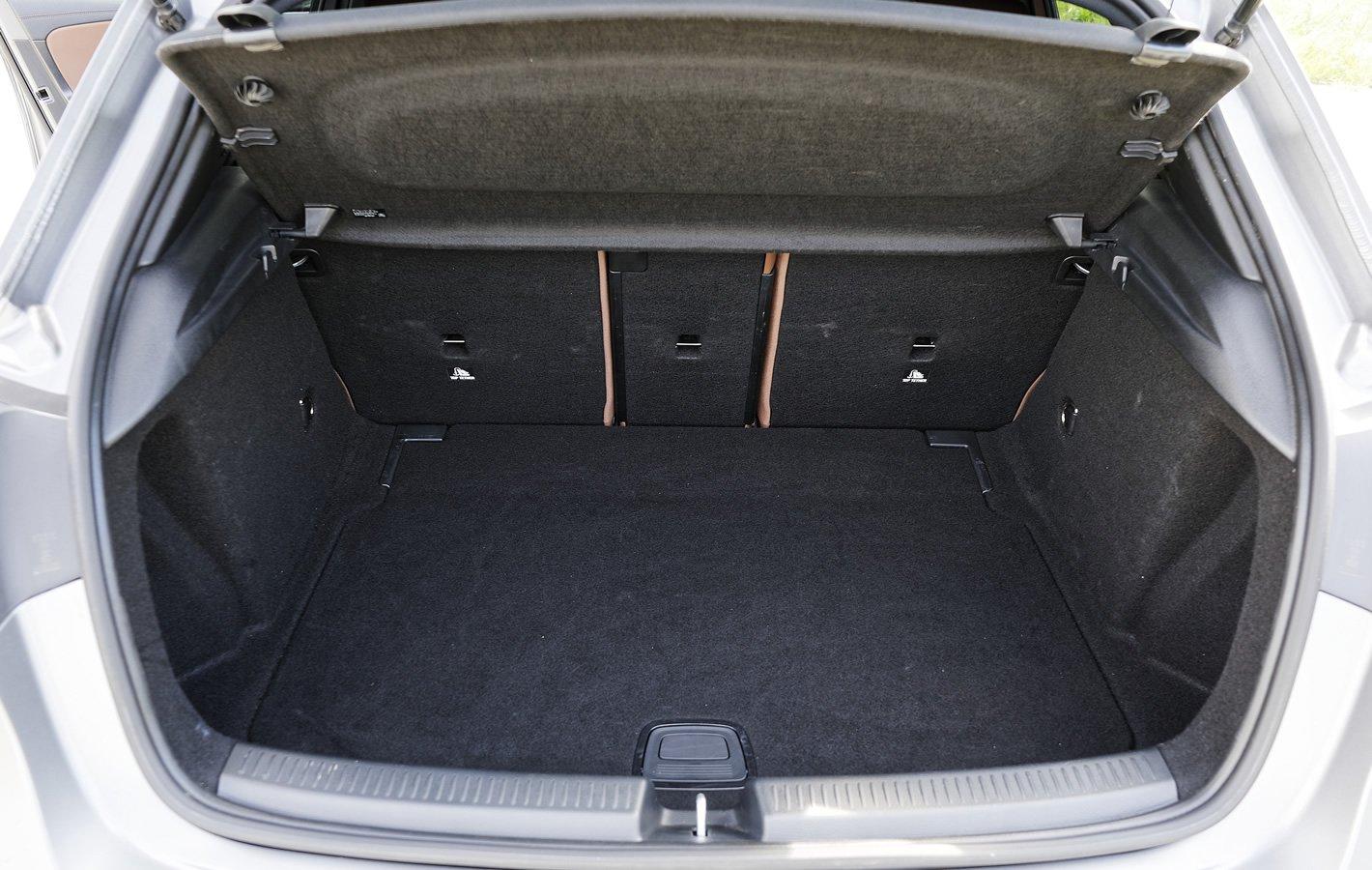 Mercedes-Benz Klasy A 200 - bagażnik