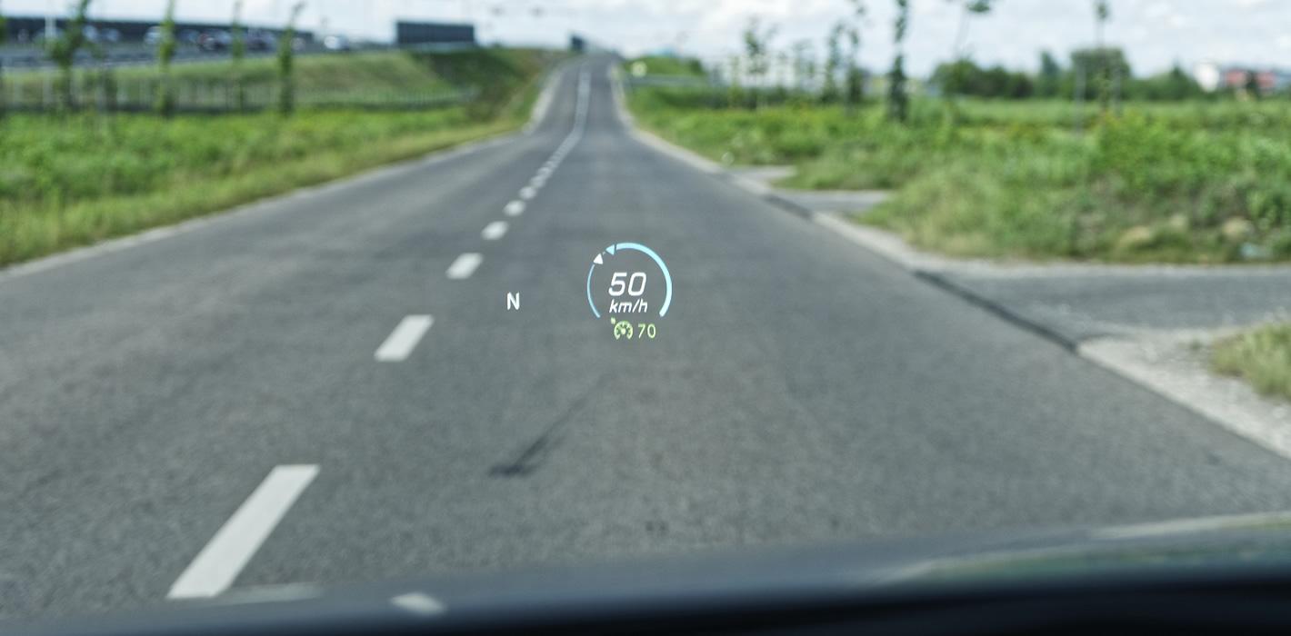 Mercedes-Benz Klasy A 200 - HUD