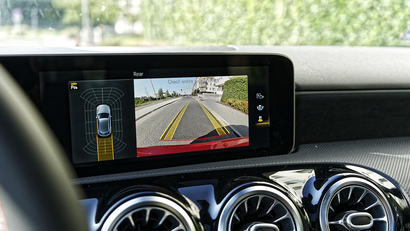 Mercedes-Benz Klasy A 200 - kamera cofania