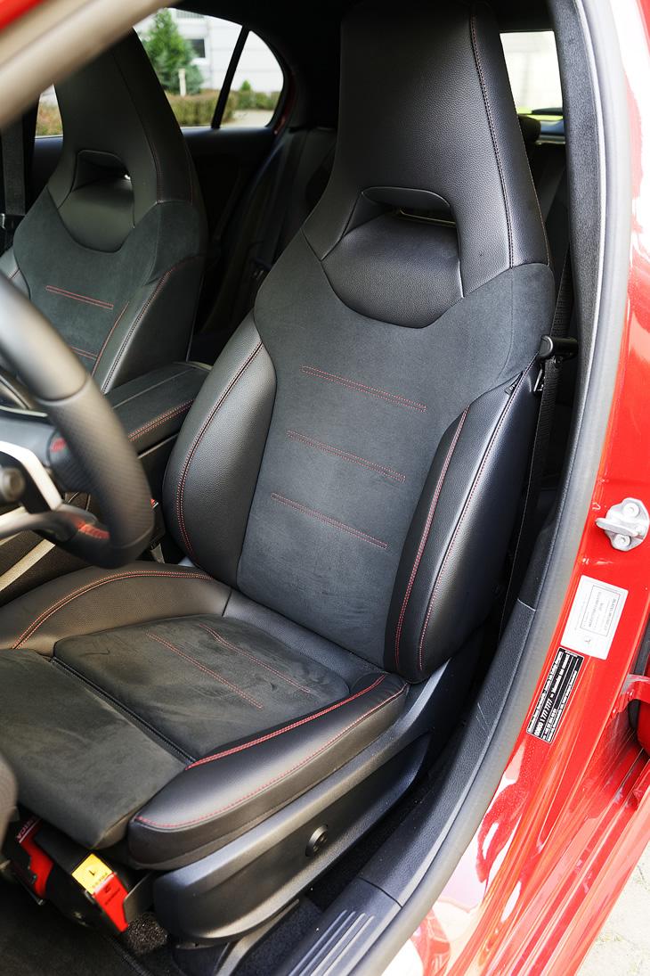 Mercedes-Benz Klasy A 200 - fotel kierowcy