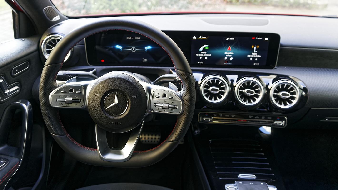 Mercedes-Benz Klasy A 200 - kierownica