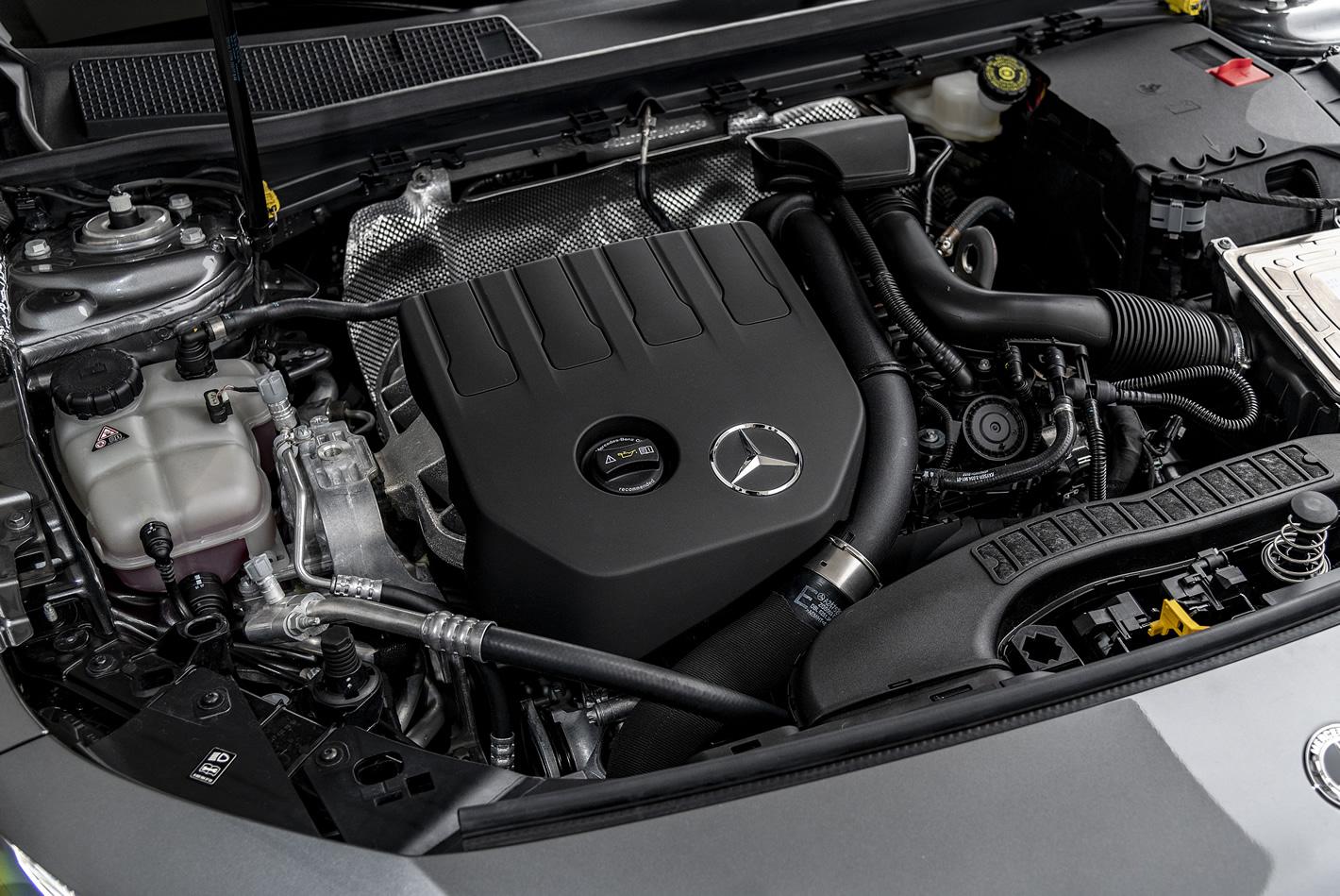 Mercedes-Benz Klasy A 200 - silnik