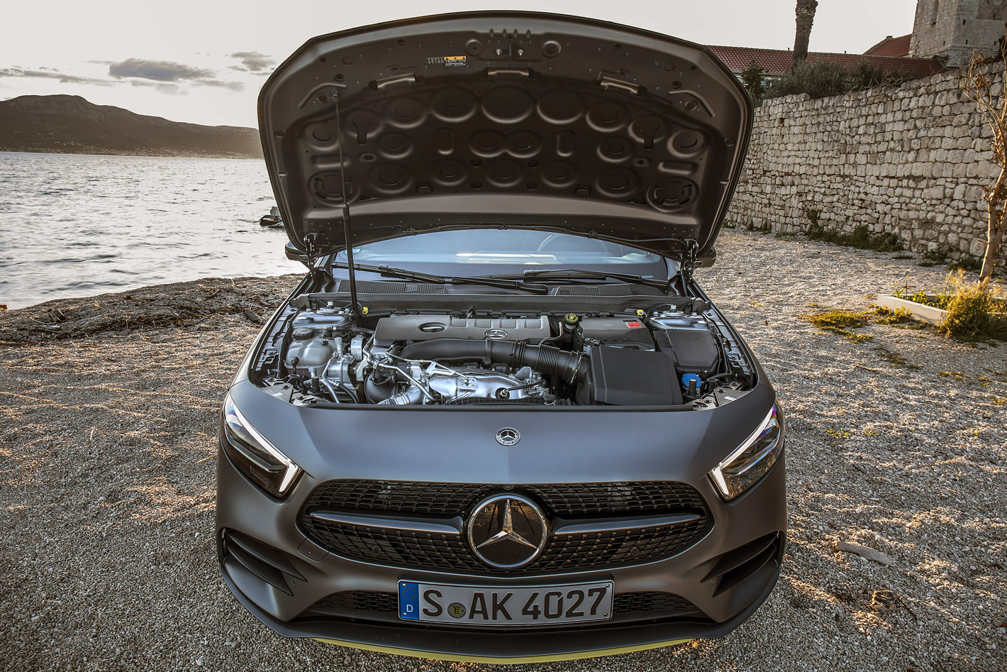 Mercedes-Benz Klasy A 250 - silnik