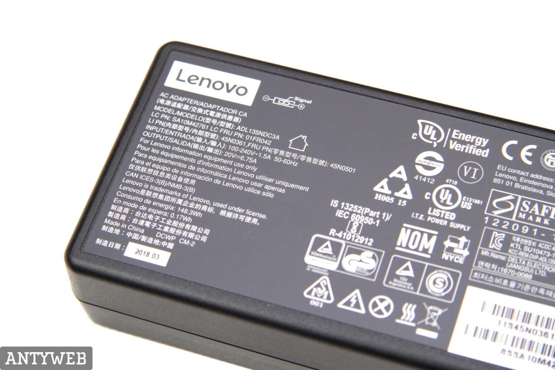 Lenovo Legion Y530 zasilacz