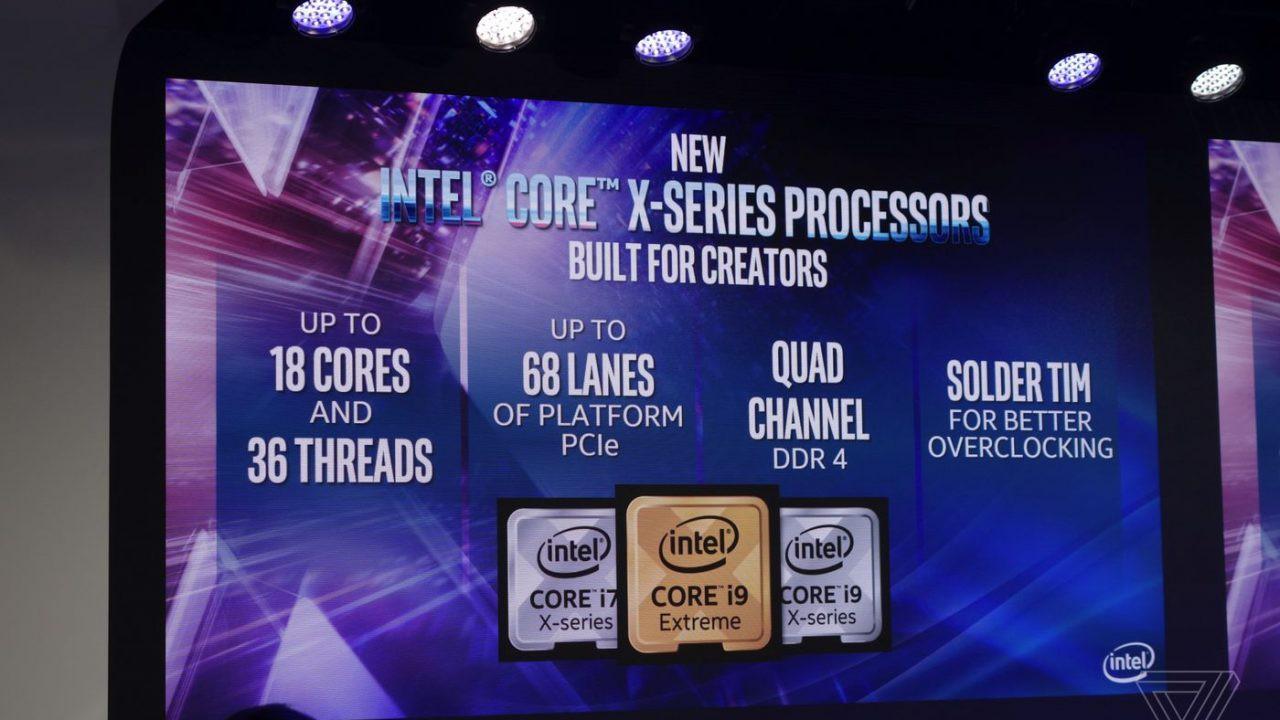 Intel Core 9. generacji LGA 2066