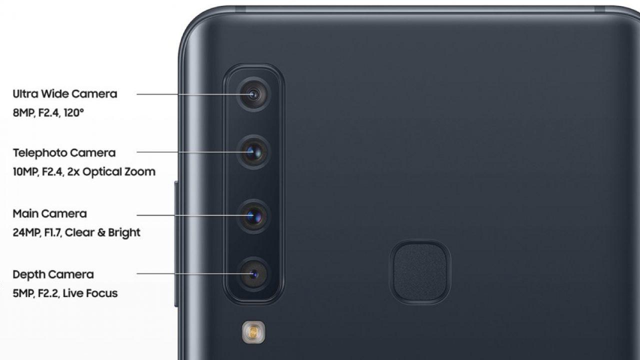 cztery aparaty