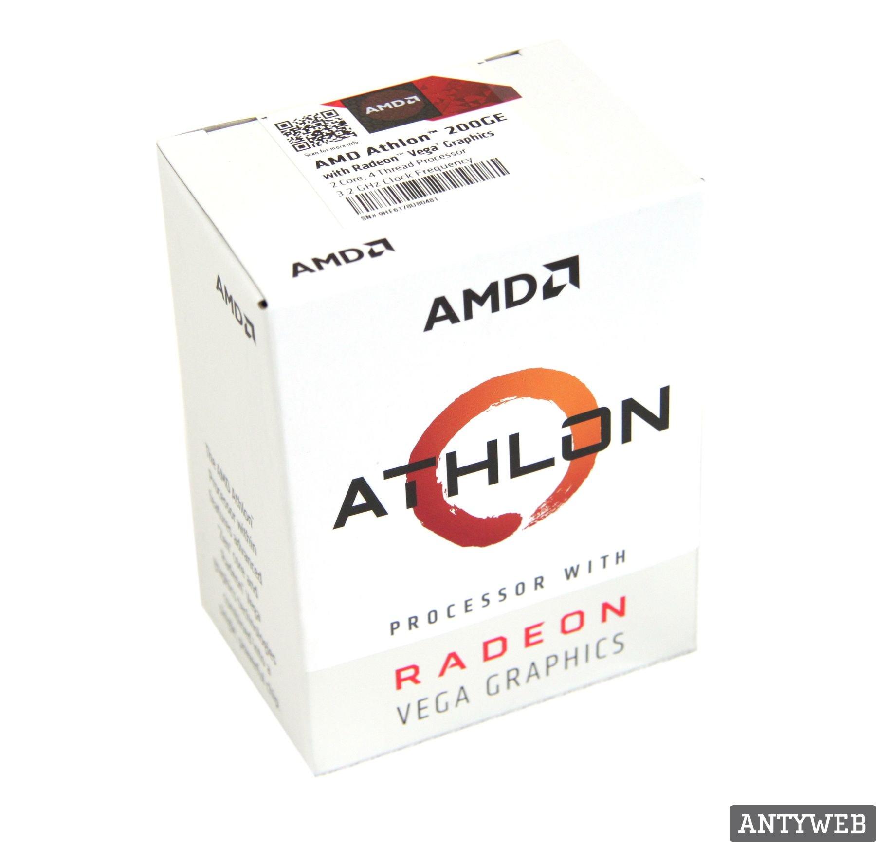 AMD Athlon 200GE pudełko
