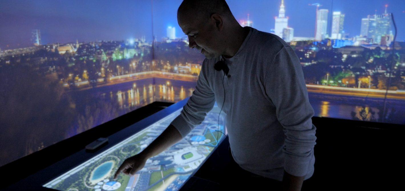 Byliśmy w multimedialnej ciężarówce SAP Intelligent Enterprise
