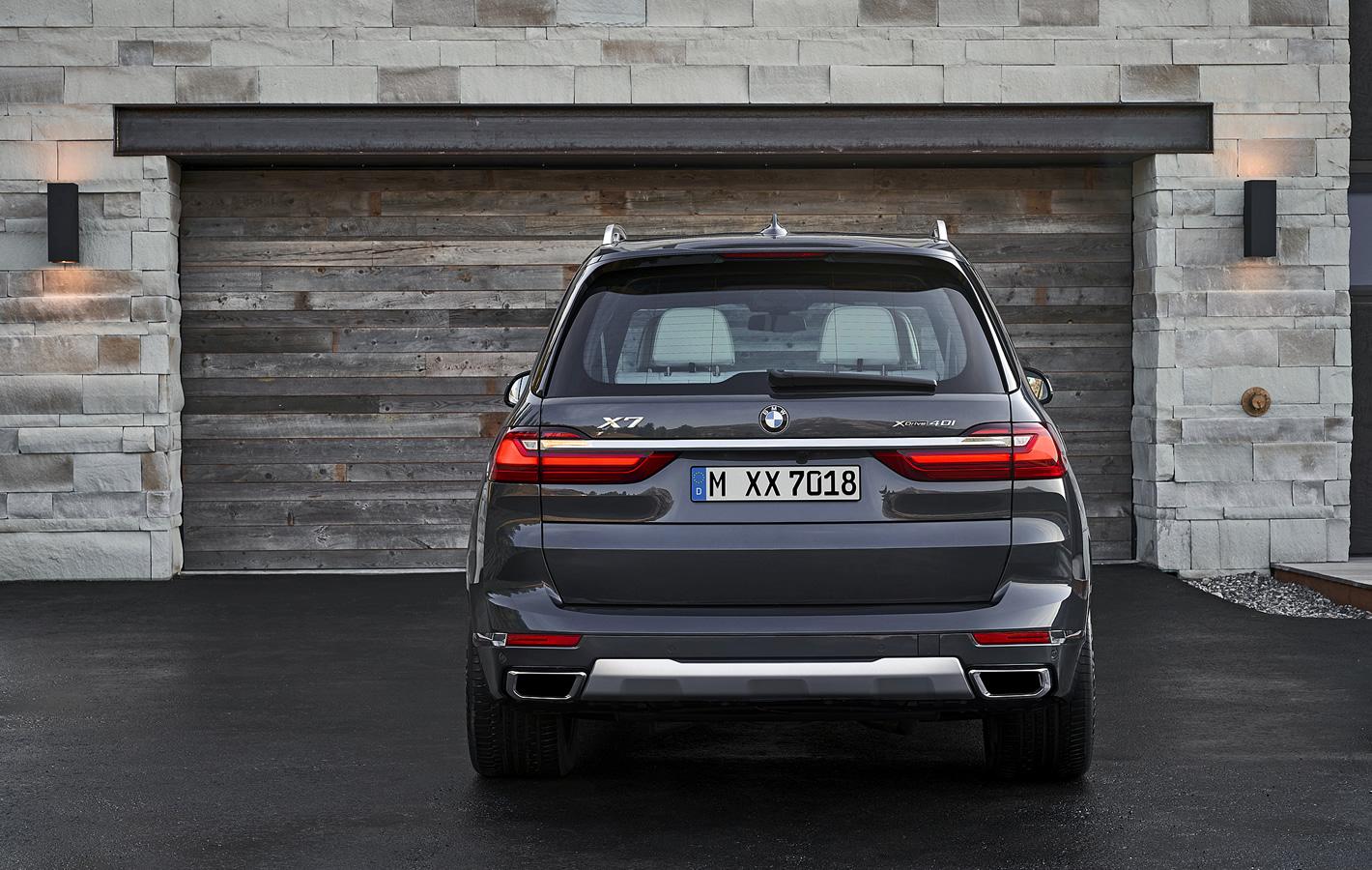 BMW X7 xDrive40i- silniki