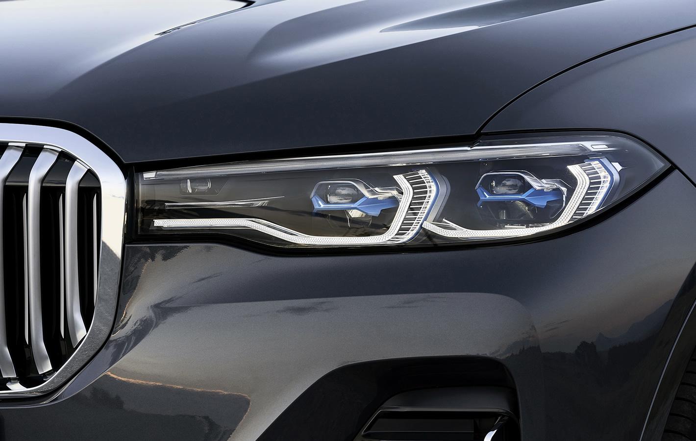 BMW X7 - reflektory laserowe