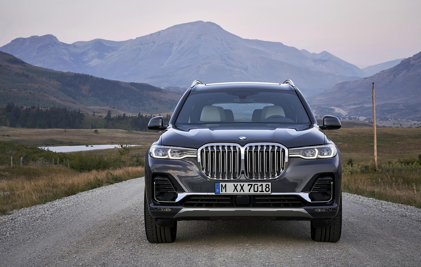 BMW X7 - premiera