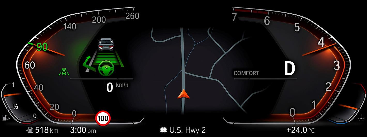 BMW X7 - iDrive 7.0