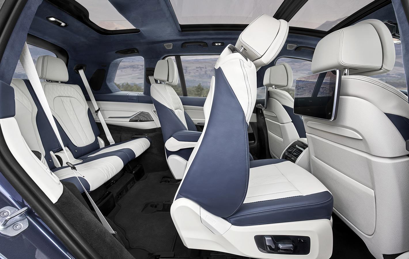 BMW X7 - trzy rzędy siedzeń