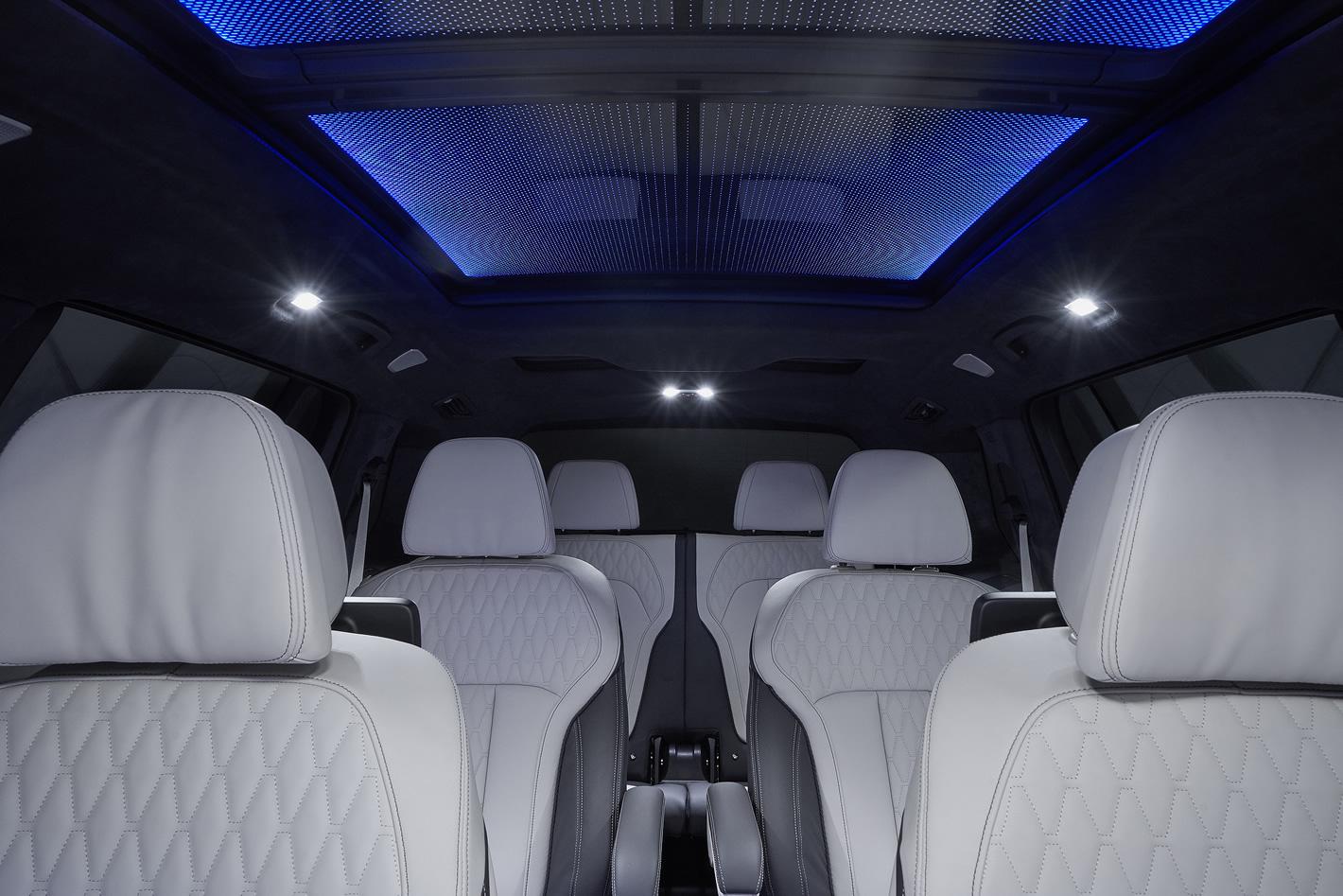 BMW X7 - panoramiczny dach