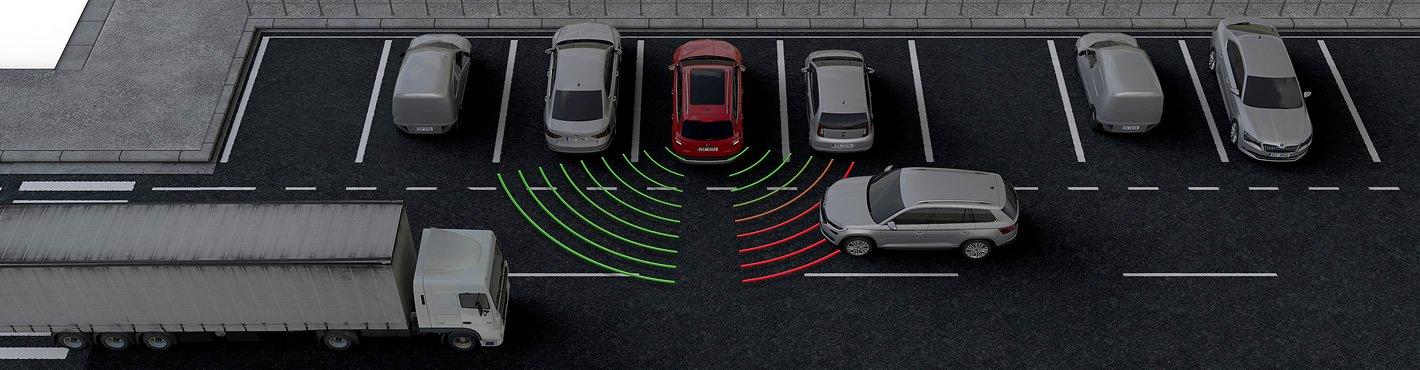 Skoda: Rear Traffic Alert