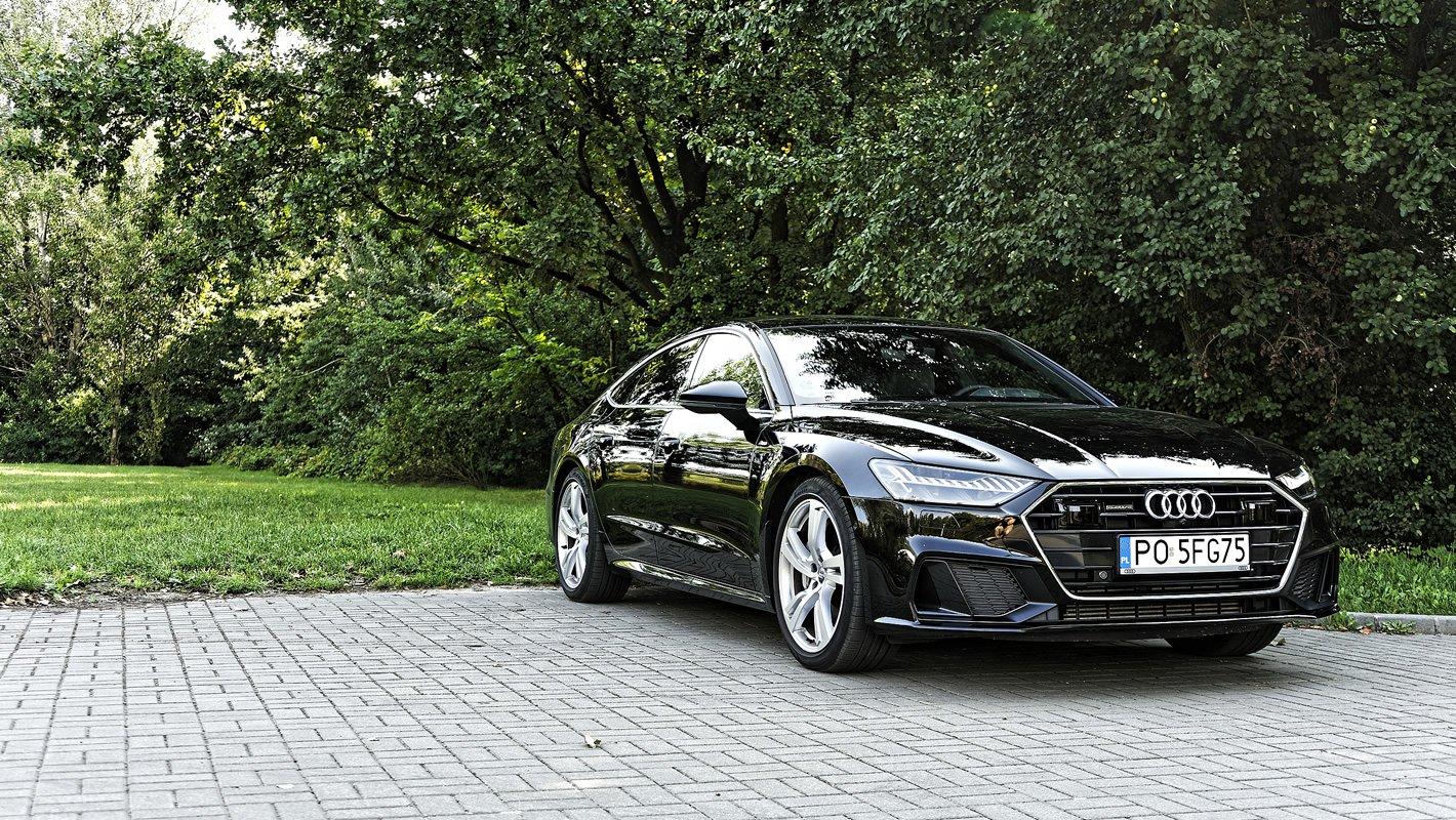 Audi A7 Sportback 55 TFSI z systemem Mild Hybrid