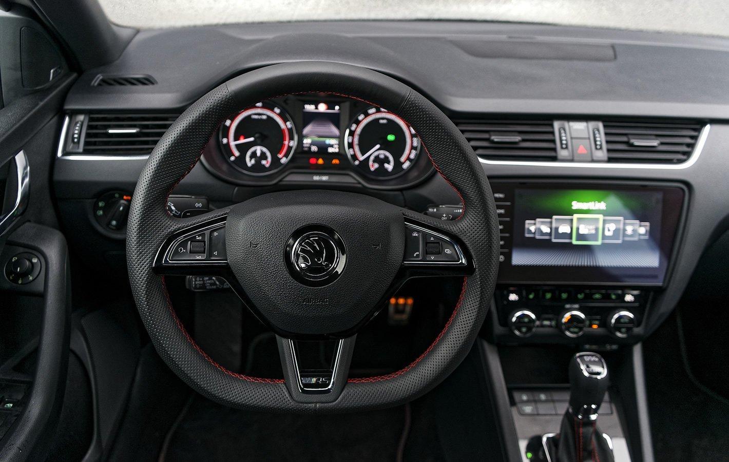 Skoda Octavia RS - kierownica