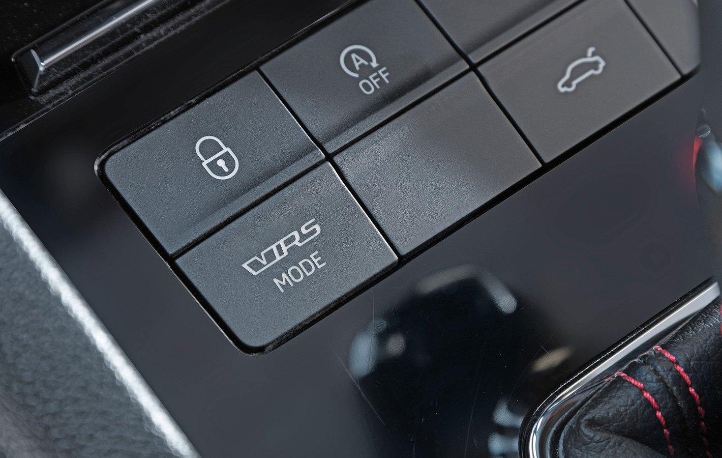 Skoda Octavia RS - tryb RS