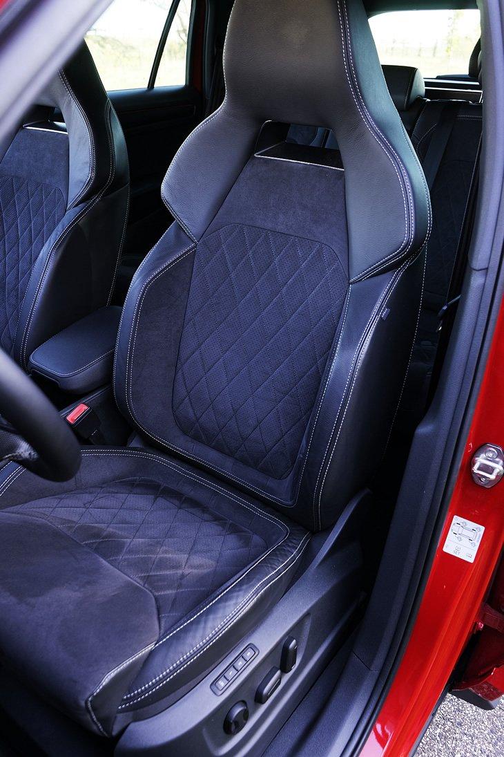 Skoda Kodiaq Sportline - fotel kierowcy