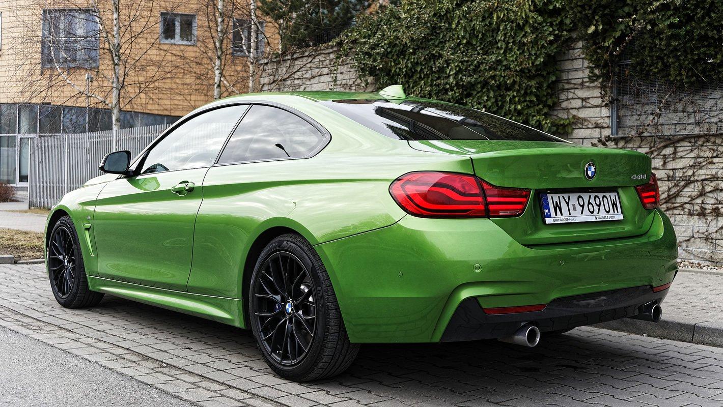 BMW 440i coupe - sportowa zwinność