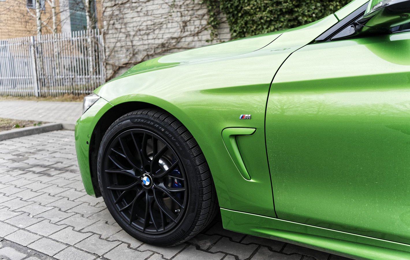 BMW 440i coupe - świetne hamulce
