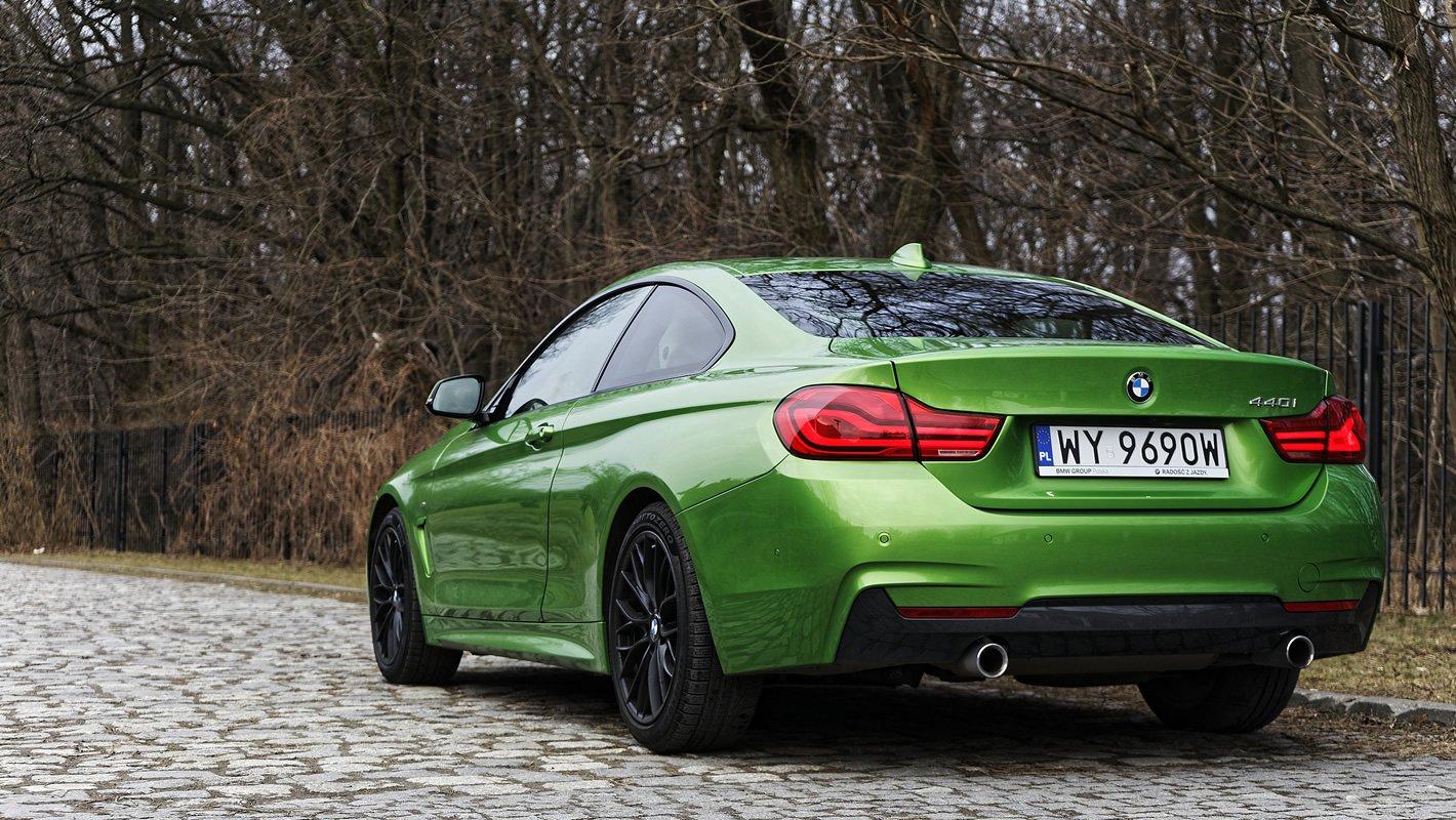 BMW 440i coupe - stonowany układ wydechowy