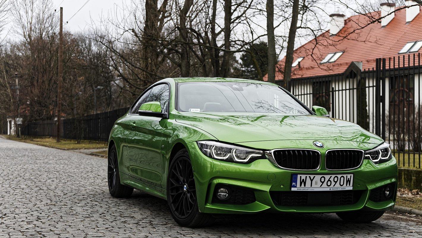 BMW 440i coupe ma rewelacyjne zawieszenie