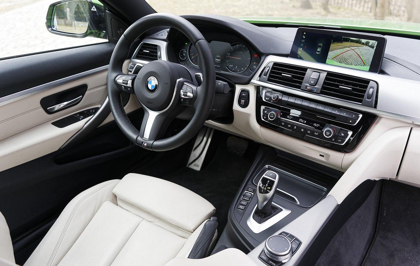BMW 440i coupe - w środku