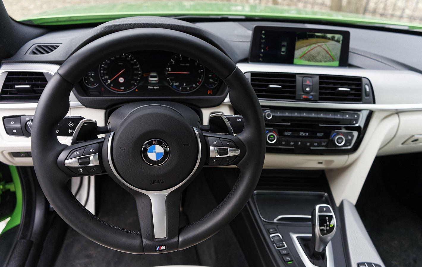 BMW 440i coupe - sportowe wnętrze