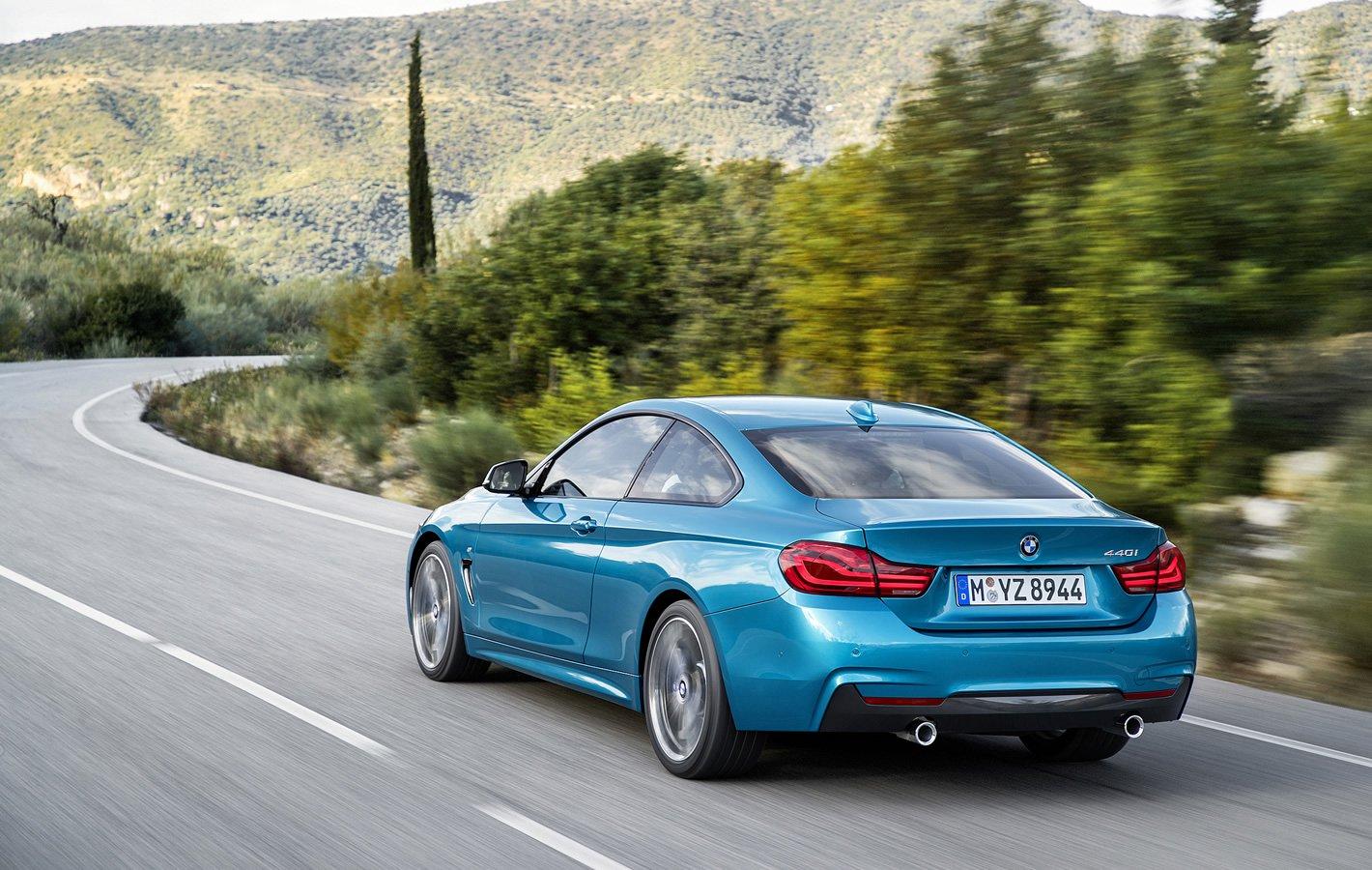 BMW 440i coupe - zużycie paliwa