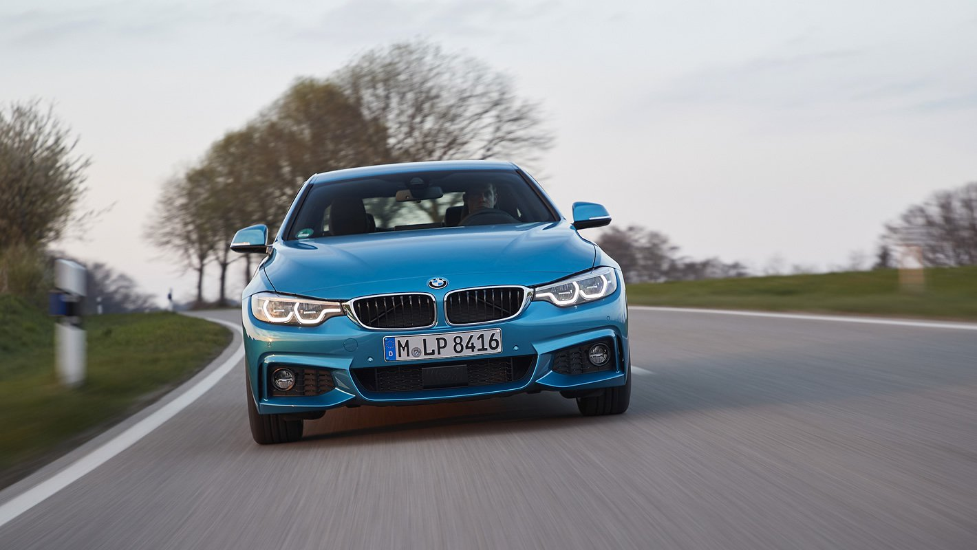 BMW 440i coupe z rewelacyjnym silnikiem 3.0 l