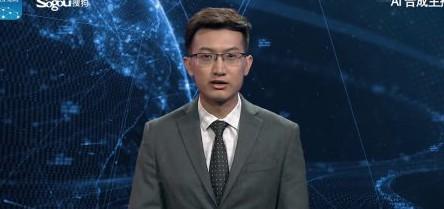 prezenter sztuczna inteligencja