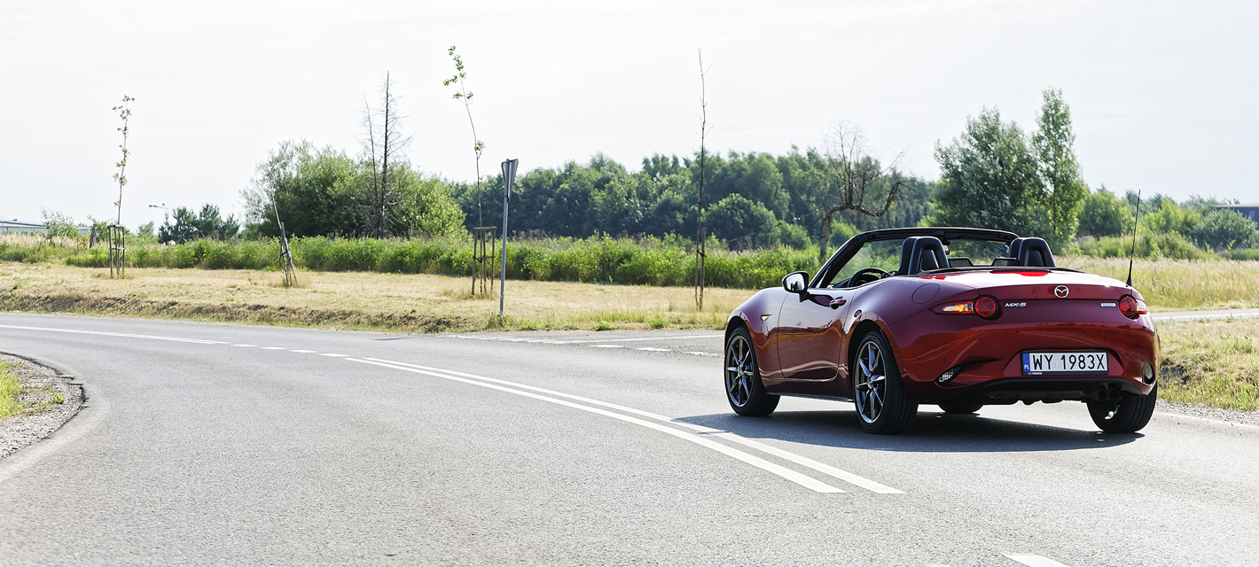 Mazda MX-5 2.0 SKY-G 2018 w codziennym użytkowaniu