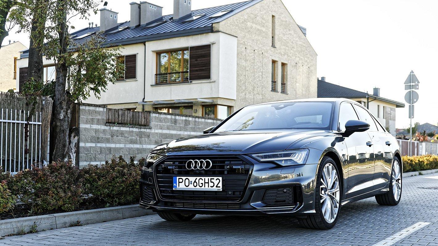 Audi A6 z reflektorami HD Matrix LED