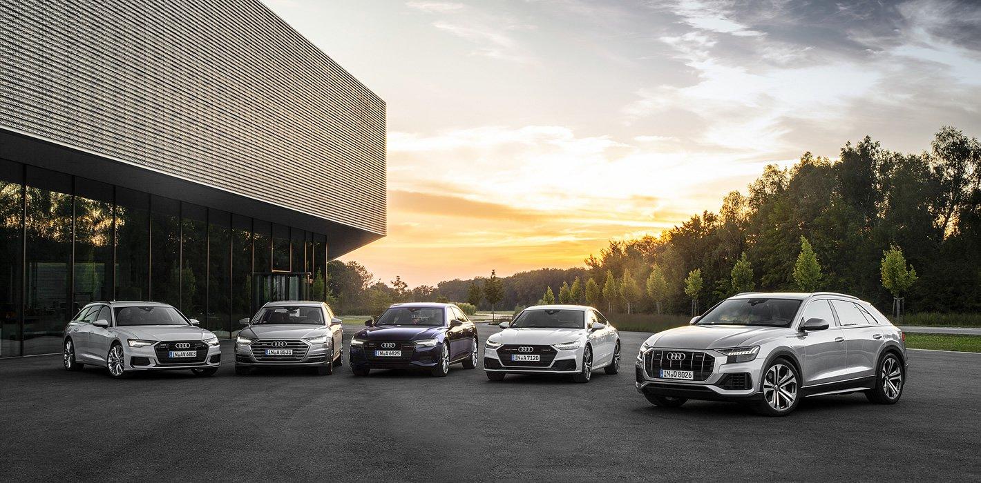 Audi A6, A8, A7 oraz Q8 z reflektorami HD Matrix LED