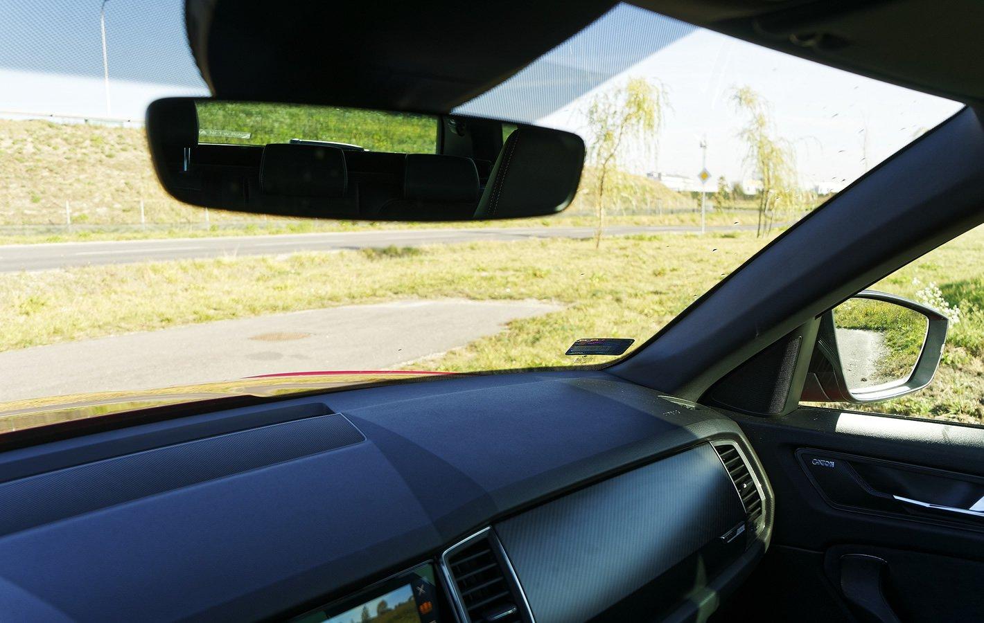 Skoda Kodiaq - widok z miejsca kierowcy