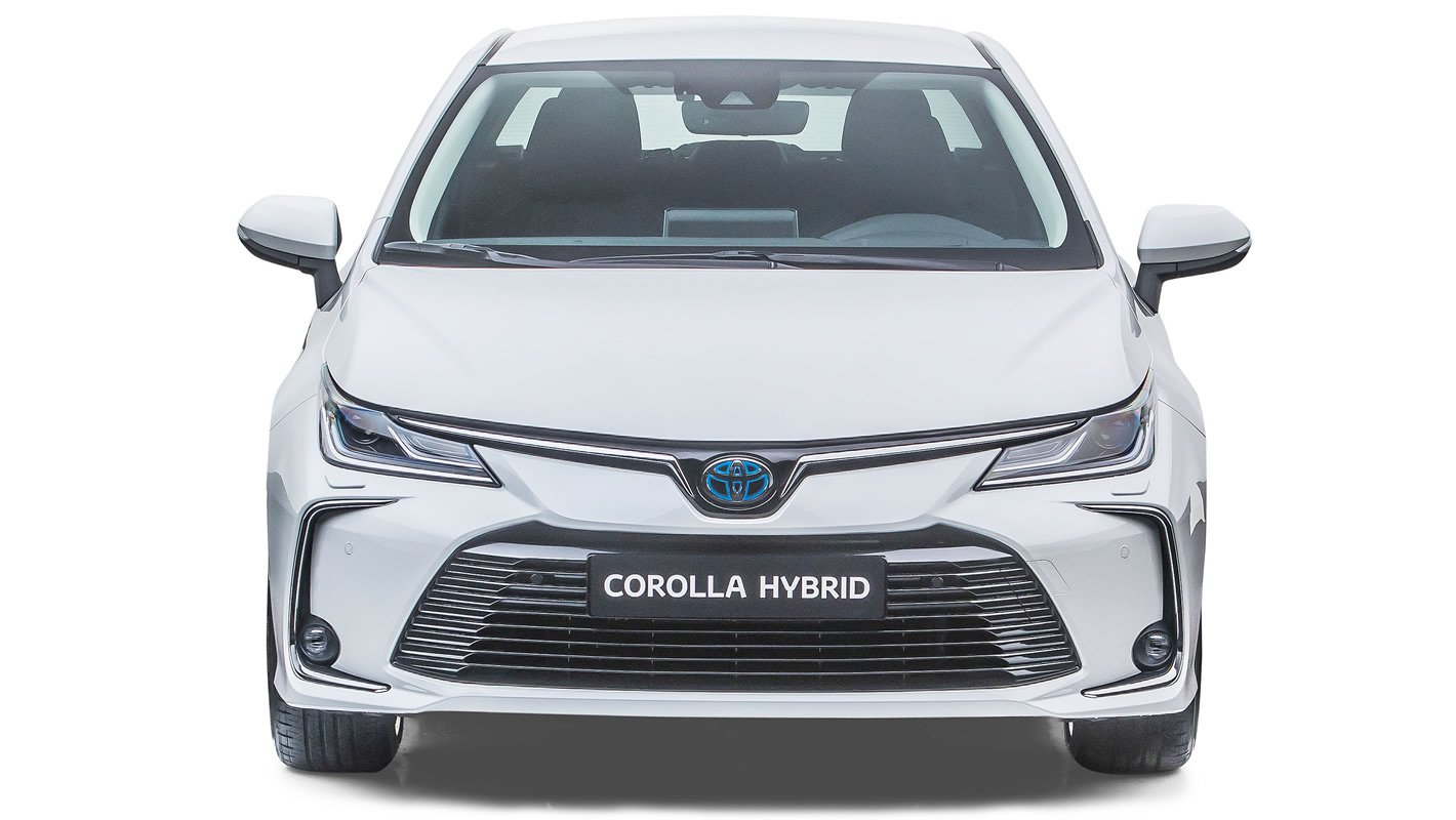 Toyota Corolla Sedan z przodu