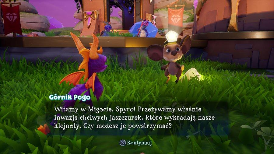 Spyro Reignited Trilogy - Dialog z Myszą