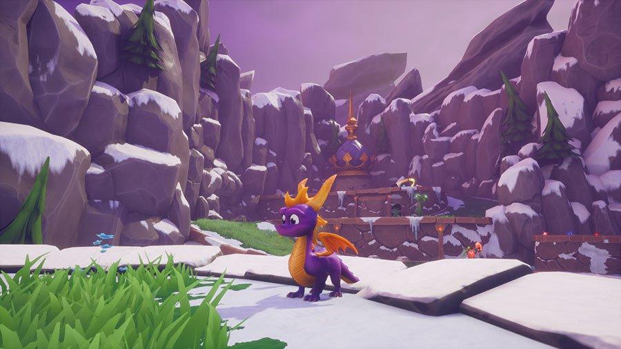 Spyro Reignited Trilogy - Zimowa Kraina