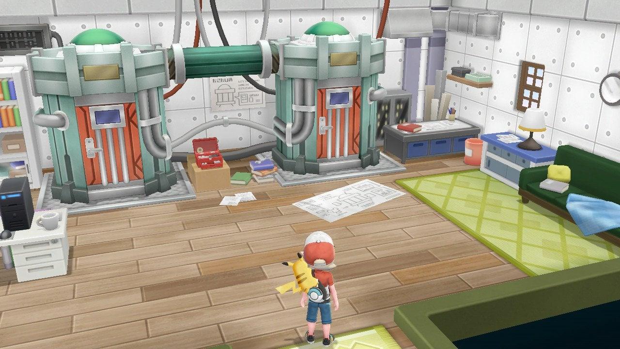 Pokemon Let's Go, Pikachu